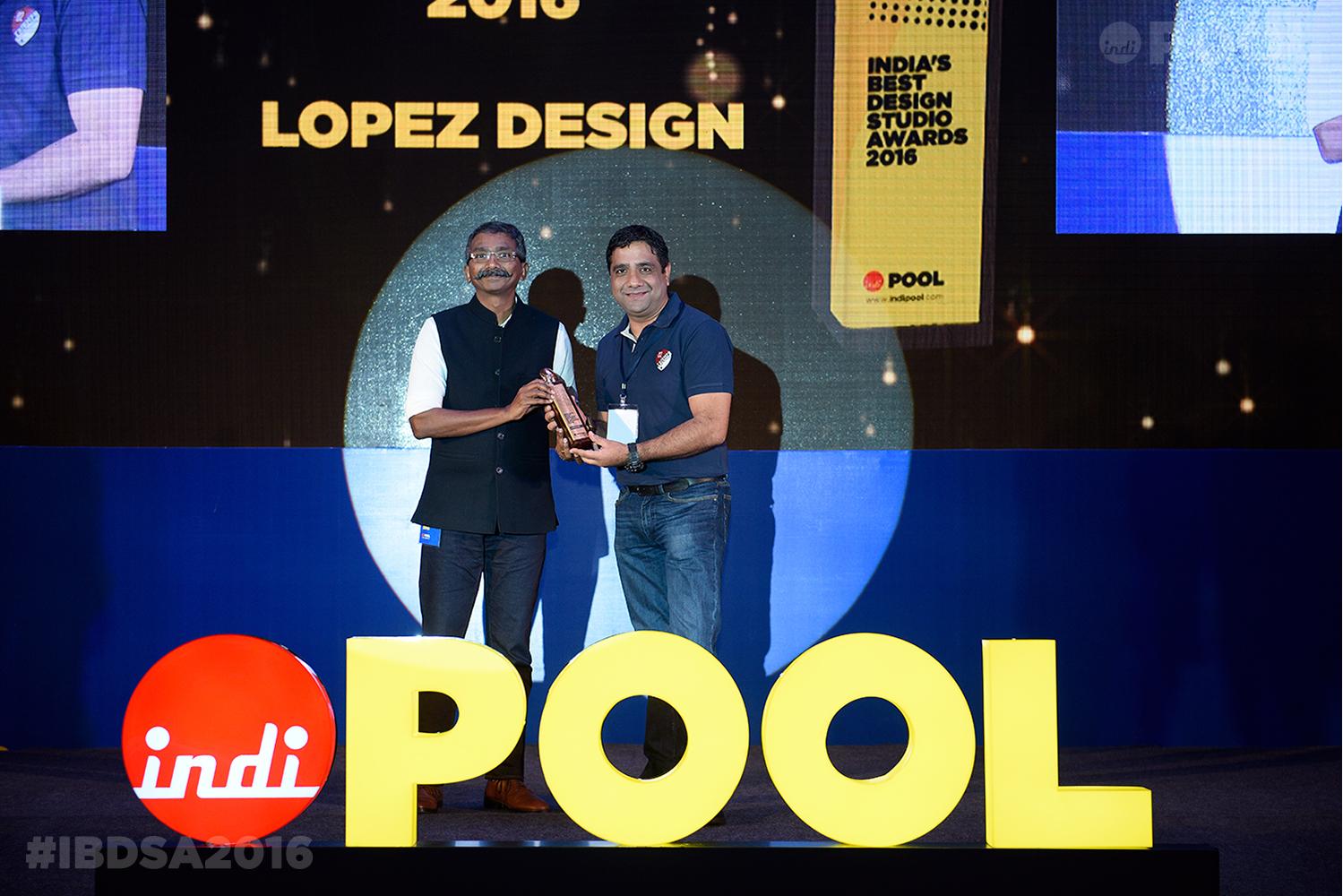 India's Best Graphic Design Studio 2016 - Lopez Design
