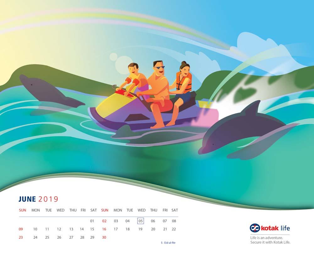 calendar page artboardsDEC4